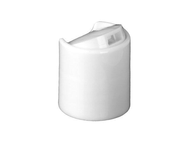 White Disc top cap