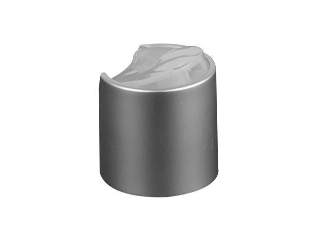 Silver (Brushed) Disc top cap