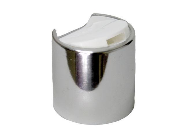 Silver (Shiny) Disc top cap
