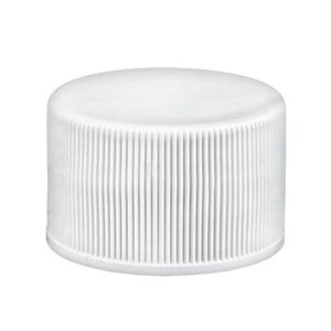 White ribbed cap