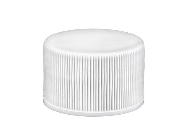 White ribbed cap