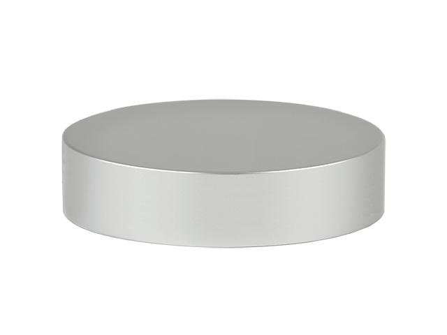 Silver (Brushed) Cap