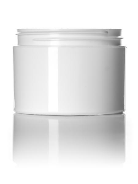 White PP Double Wall Jar
