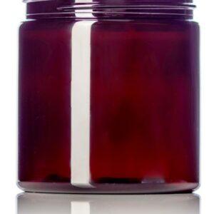 Amber PET Single Wall Jar