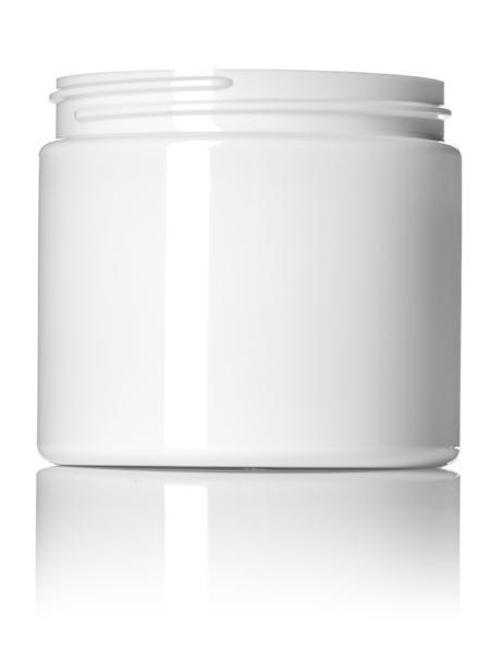 White PET Single Wall Jar